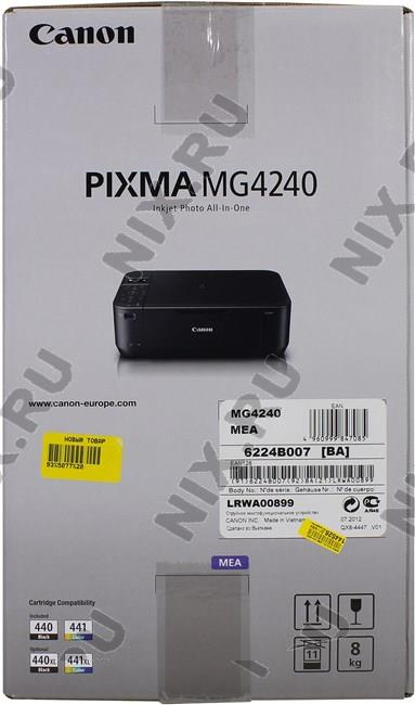 Canon Pixma MG4240 - купить в Краснодаре Низкие цены на многофункциональное устройство в интернет-магазине elmall23