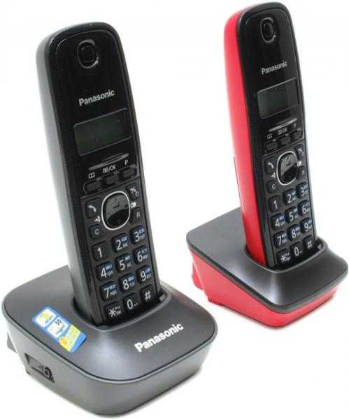 Panasonic KX-TG1612-3 Black/Red
