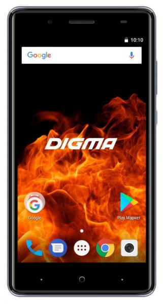 Смартфон Digma VOX FIRE 4G 8Gb Grey