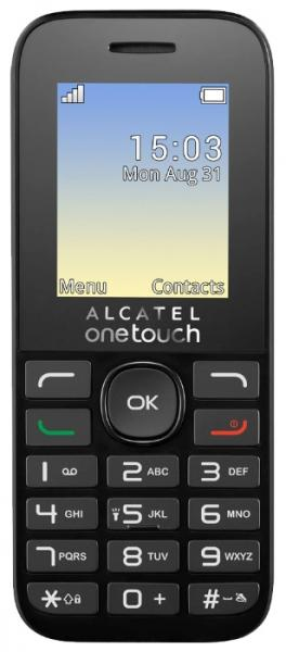 Alcatel One Touch 1020D Pure White
