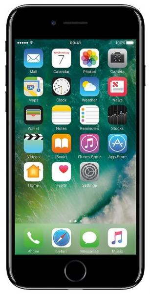 Смартфон Apple  iPhone 7 32GB Jet Black (MQTX2RU/A)